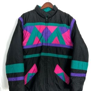 VINTAGE Haband for HER Size 2x 80s Ski Jacket Ugly